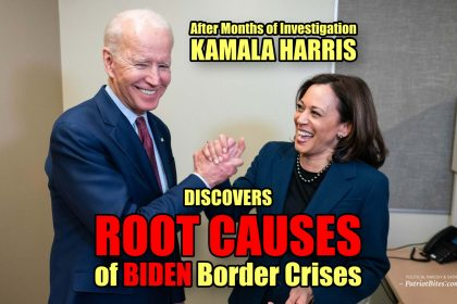 After Months of Investigation Kamala Harris Discovers ROOT CAUSES of BIDEN Border Crisis