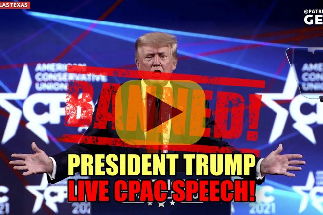 President Trump LIVE CPAC SPEECH! BANNED!