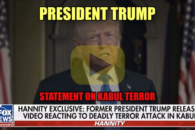 President Trump Statement on Kabul Terror