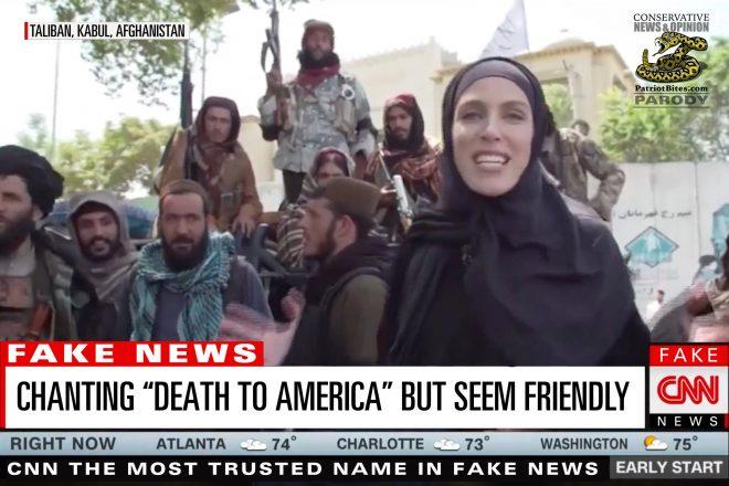 CNN Chanting Death to America but Seem Friendly
