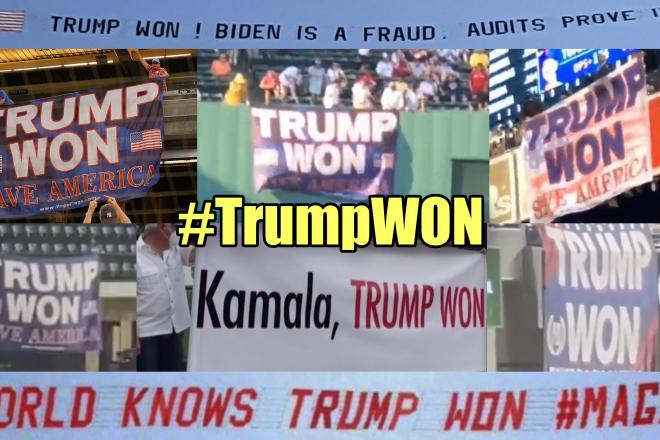 #TrumpWON Banners