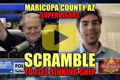 Maricopa County AZ Supervisors Scramble to Flee Sinking Ship
