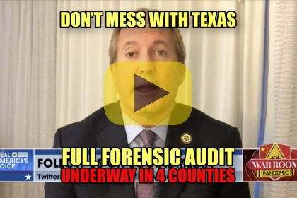 Don't Mess With Texas Full Forensic Audit Underway in Four Counties