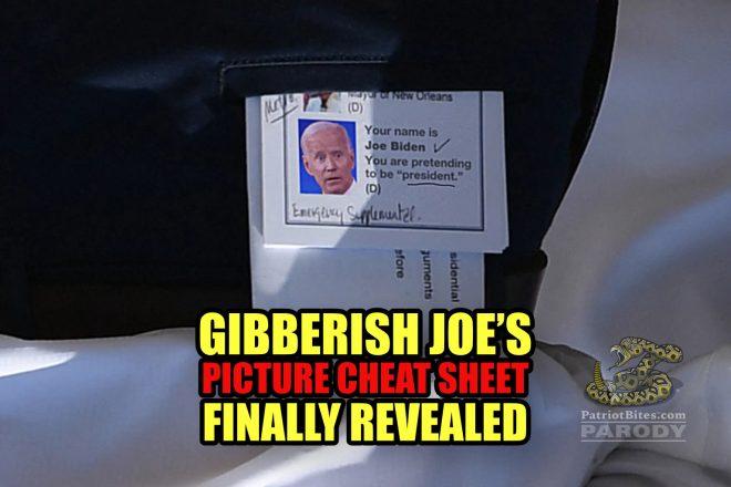 Gibberish Joe's Picture Cheat Sheet Finally Revealed