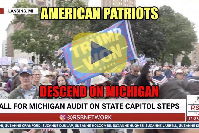 American Patriots Descend on Michigan